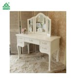 Wholesale Elegant Lady Dressing Mirror Furniture Makeup Dressing Table
