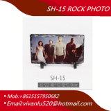 Sh15 Photo Rocksublimation Blanks Wholesale Big Round 30*30cm Custom Gifts Sublimation