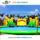 Aqua Park Equipment Inflatable Pool Water Game Inflatable Slide Pool
