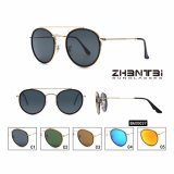 2018 Hot Sale Ready Stock Stainless Glass Lens Sunglasses (BAX0037)