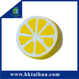 Hot Sale Artificial Lemon Soft Squishy Slow Rising Foamy PU Fruit Stress Toys
