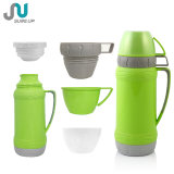3 Cups Vacuum Water Thermos Bottle Plastic Body