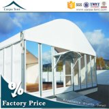 15X40m Luxury Event Tent for Exhibition with Glass Wall and Roof Lining