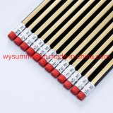 7inch Stripe Metallic Painting Pencil in Black and Gold with Earser