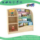 Nursery Hot Sale Oak Wooden Kids Book Shelf (HJ-3405)