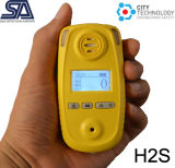 Personal Single Portable Gas Detector for H2s, Co, O2, Nh3, CO2, No2, Tvoc Gas Monitor