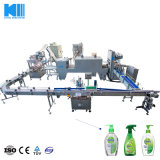 High Quality Oil Chemical Liquid Filling and Packing Line