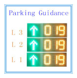 9cm Tall LED Display for Parking Guidance System