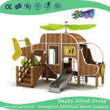 Children Outdoor PE Board and Wooden Combination Playground (HJ-15604)