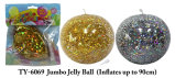 TPR Inflatable Jelly Balloon Ball Funny Kids Toy Novelty Toy