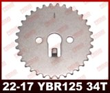 Ybr125 Timing Gear 34t/36t High Quality Motorcycle Timing Gear Ybr125 Motorcycle Spare Parts