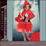 Girls Storybook Red Riding Hood Halloween Party Costume (4005)