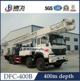 400m Truck Mounted Hydraulic Rotary Water Well Drilling Rigs Price Dfc-400b