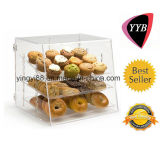Custom Acrylic Bread Box with Door (YYB-078)