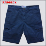 Solid Cotton Shorts for Men Summer Pants