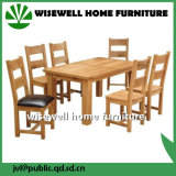Oak Wood Dining Room Furniture Set with 6 Chairs (W-5S-995)