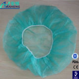 Surgical Disposable Nonwoven Clip Type Bouffant Round Cap