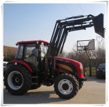 Huaxia 110HP and 120HP Farm Tractor with Front End Loader
