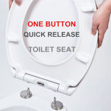 One Button Quick Release Toilet Seat Cover