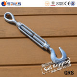 Galvanized US Type Forged Hook and Eye Type Turnbuckle