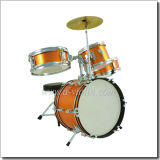 4 Piece Junior Drum Set for Kids/Children Drum Set (DSET-80C)