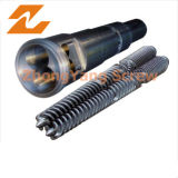 Twin Conical Screw Barrel Bimetallic PVC Extrusion Parallel Twin Screw Barrel