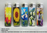 Electronic Disposable Gas Lighter With Wrap Shrink Film Picture (BD-818)
