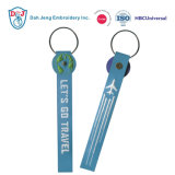 Promotion Key Chains Embroidered with Glow in The Dark Thread