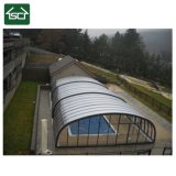 Tent Covers Shade Translucent Large Aluminum Polycarbonate Retractable Pool Cover