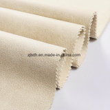 2018 Top Sale Cream Knitted Fabric Look Like Leather for Sofa (YN007)