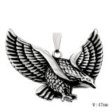 Steel Fashion Accessories Vintage Eagle Men Necklace Pendant