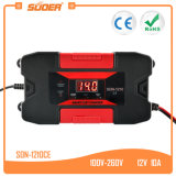 Suoer 12V 10A Solar Car Automatic Battery Charger with Ce (SON-1210CE)