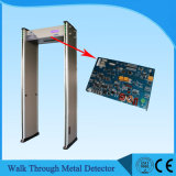 Six Sensor Zones LCD Display Walk Through Metal Detector on Big Promotion