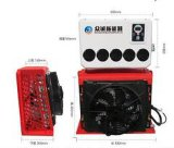 DC Power Air Conditioner for Truck Box Type Small Size