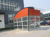 a Small Movable Tent for Outdoor Working Office