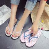 Factory Cheap Women Beach Filp Flops Summer Beach Sports Shoes Lady Rubber PVC
