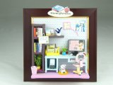 Affordable Picture Frame DIY Miniature Dollhouse Staff Toy