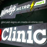 Waterproof Outdoor 3D Acrylic Letter Sign