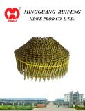 "Round Head Conical Type, 2"" X 083"", Ring Shank, Bright, 15 Degree Wire Collated Siding Nails, Coil Nail"