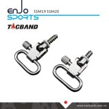 Qd Swivel for Bolt Action with Wood Screw Set, Nickel Plated