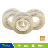 3.4mm Plastic Core Adhesive Super Clear School Stationery BOPP Tape