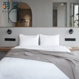 Full Size Customized Hotel Egyptian Cotton White Color Bed Linen for Hotels