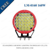 8 Inch Round Red LED Driving Lamp IP67 CREE 160W