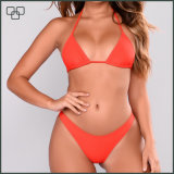 Sexy Mature Women Bikini Seamless Reversible Bikini