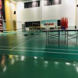 Bahrain Market Slip Resistance Strong Shock Absorption PVC Flooring for Indoor Basketball Volleyball Tennis Badminton Sport Court