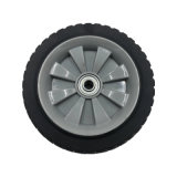 Non-Slip Solid Tyre Type Rubber Wheels for Hand Truck/Trolley/Cart