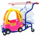 Kids Supermarket Shopping Trolley Cart