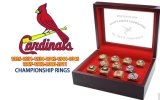 St Louis Cardinals Baseball Championship Rings