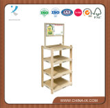 Customized Notched Post Wood Display Stand