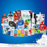 Laminated Plastic Flexible Stand up Pouch with Spout Food Packaging